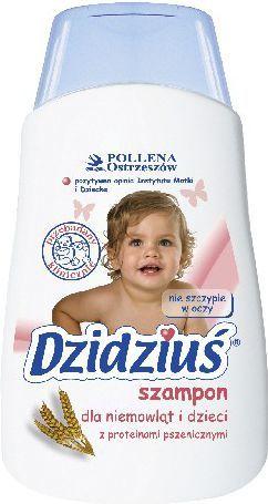 Dzidziuś  Szampon dla niemowląt i dzieci z proteinami pszenicznymi 300ml 1