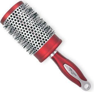 Top Choice Szczotka do włosów Exclusive rozm XL okrągła silver/burgund (62049-01) 1