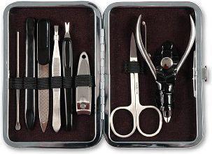 Top Choice Komplet do manicure i pedicure - 8 elementów (79726) 1 op. 1