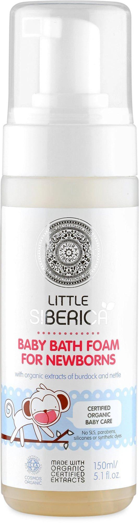 Natura Siberica Little Siberica Pianka do kąpieli dla noworodków +0 150ml 1