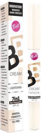 BELL Korektor BB Cream pod oczy rozświetlający nr 10 Light 1