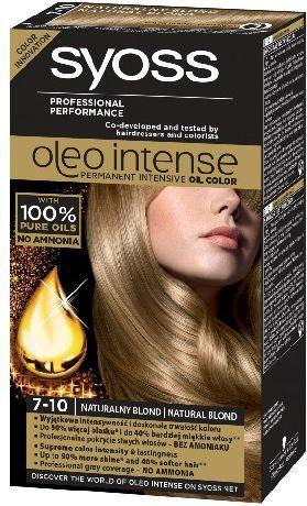 Syoss Farba do włosów Oleo 7-10 naturalny blond 1