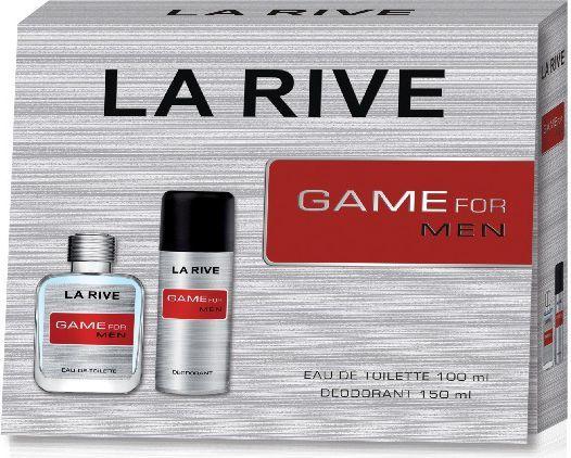 La Rive for Men Game Zestaw /edt100ml+deo150ml/ - 58590 1