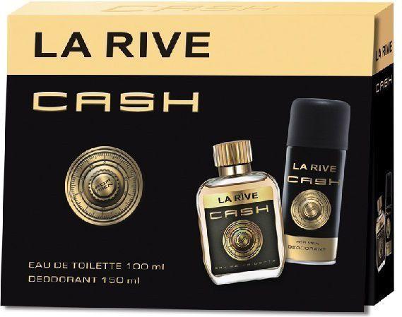 La Rive for Men Cash Zestaw/edt90ml+deo150ml/ 1