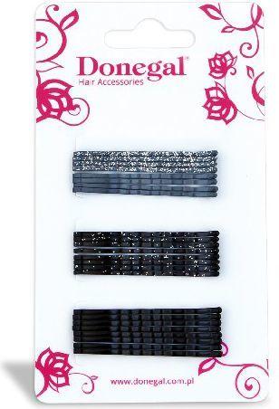 Donegal Wsuwka wąska czarna i szara 24szt FA-5504 1
