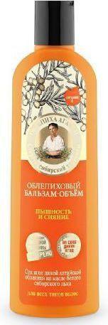Babuszka Agafia Balsam do włosów rokitnikowy objętość i puszystość 280 ml 1