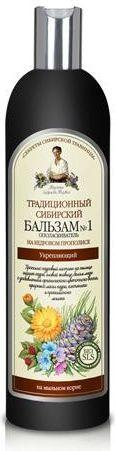 Babuszka Agafia Balsam syberyjski tradycyjny Nr 1 wzmacniający 550 ml 1