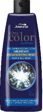 Joanna Ultra Color System Płukanka do włosów niebieska 150 ml 1