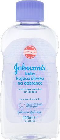 Johnson & Johnson Baby Bedtime Oliwka dla dzieci lawendowa na dobranoc 200ml 1