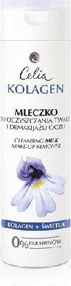 Celia Seria kolagenowa Mleczko do oczyszczania twarzy i demakijażu oczu 200 ml 1