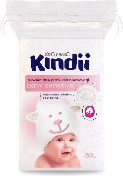 Cleanic Baby Sensitive Płatki kosmetyczne 60 szt. 1