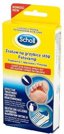 Scholl Problemy Stóp Zestaw przeciw grzybicy stóp 1szt 1