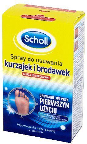 Scholl Problemy stóp Spray do usuwania kurzajek i brodawek 80ml - 649223 1
