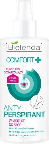 Bielenda Comfort + Antyperspirant w mgiełce dp stóp 150ml 1