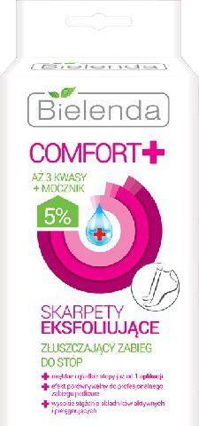Bielenda Comfort + Skarpety eksfoliujące do stóp 1op.-2szt 1