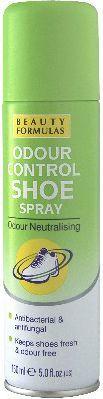 Beauty Formulas Stopy Dezodorant do butów antybakteryjny i przeciwgrzybiczny 150ml 1