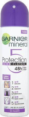 "Garnier Mineral Protection ""5"" Dezodorant spray Floral Fresh 150ml 1"