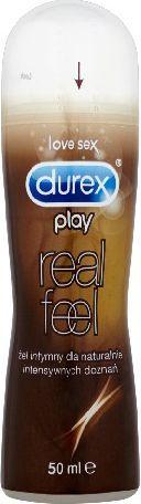Durex  Play Żel intymny Real Feel dla intensywnych doznań 50ml 1
