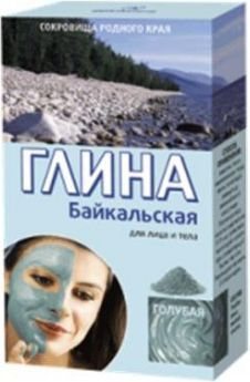 Fitocosmetics Glinka 100g bajkałska błękitna odmładzająca 1