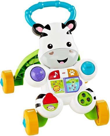 Fisher Price Interaktywny chodzik Zebra (DPL53) 1