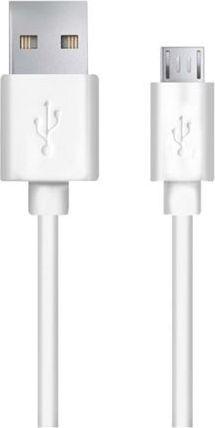 Kabel USB Esperanza USB/micro USB, 1m, Biały (EB183W) 1