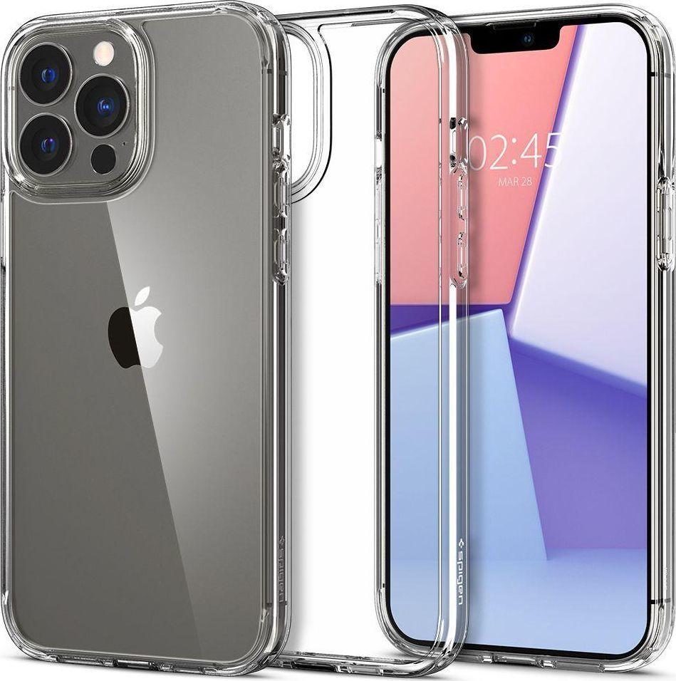 Spigen Etui Spigen Ultra Hybrid Apple iPhone 13 Pro Max Crystal Clear 1