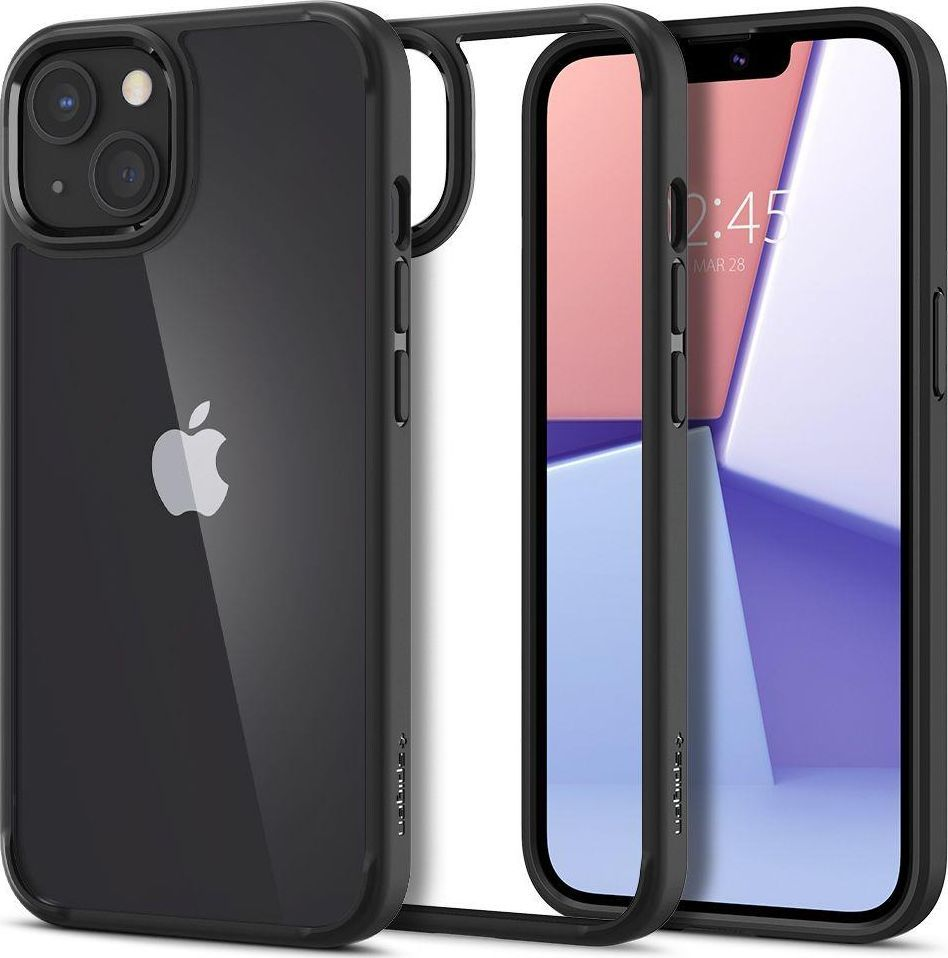 Spigen Etui Spigen Ultra Hybrid Apple iPhone 13 Matte Black 1
