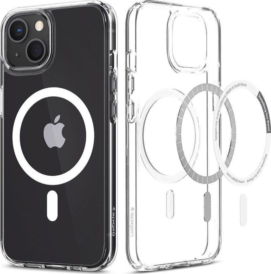 Spigen Etui Spigen Ultra Hybrid Mag MagSafe Apple iPhone 13 mini White 1