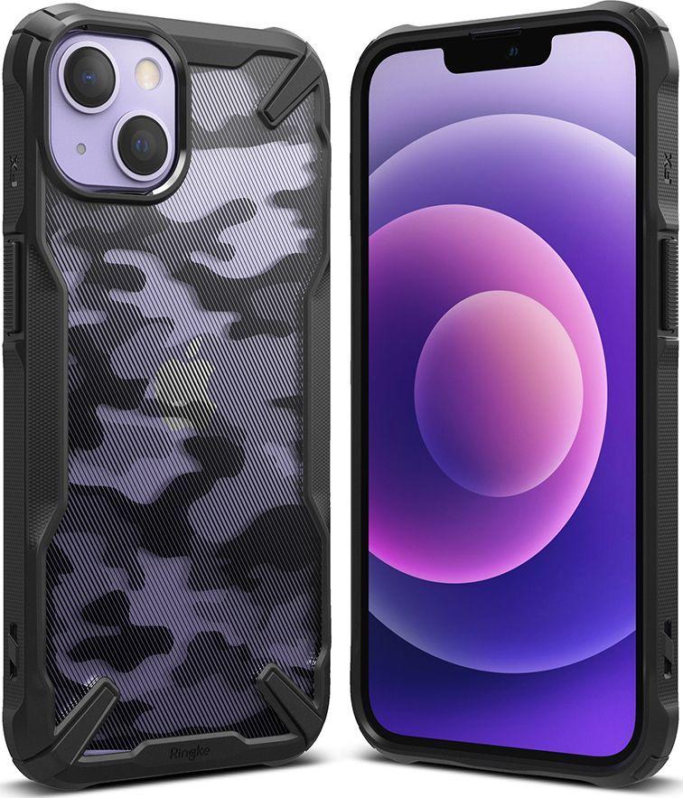 Ringke Etui Ringke Fusion-X Design Apple iPhone 13 Camo (Moro) Black 1