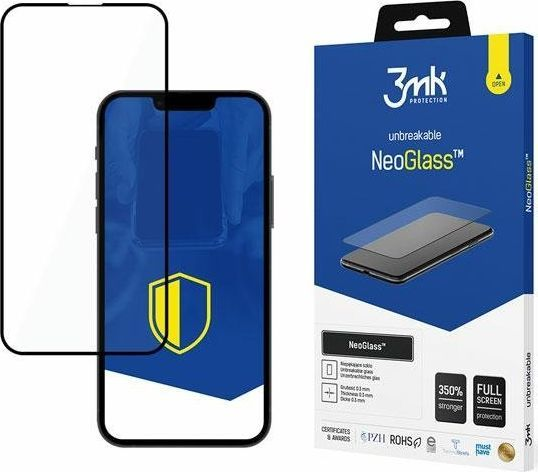 3MK Szkło ochronne 3MK NeoGlass Apple iPhone 13 Pro Max czarne 1