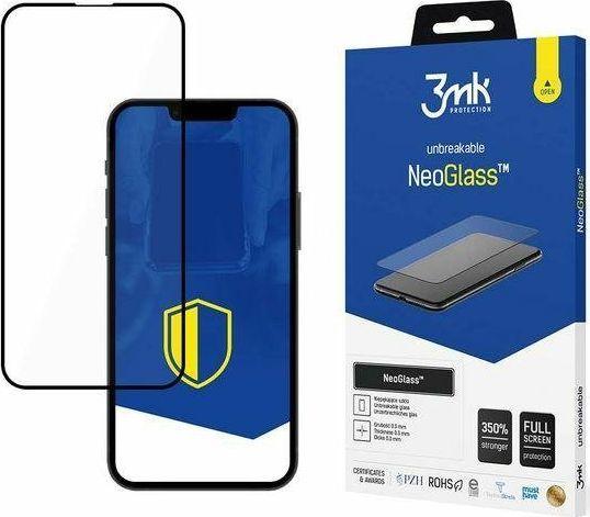 3MK Szkło ochronne 3MK NeoGlass Apple iPhone 13 mini czarne 1
