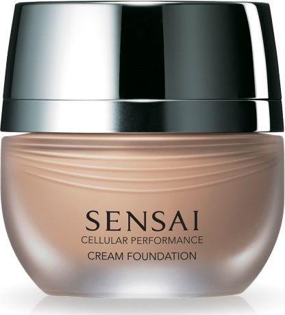 Kanebo Sensai Cellular Performance Cream Foundation CF 23 Almond Beige 30ml 1