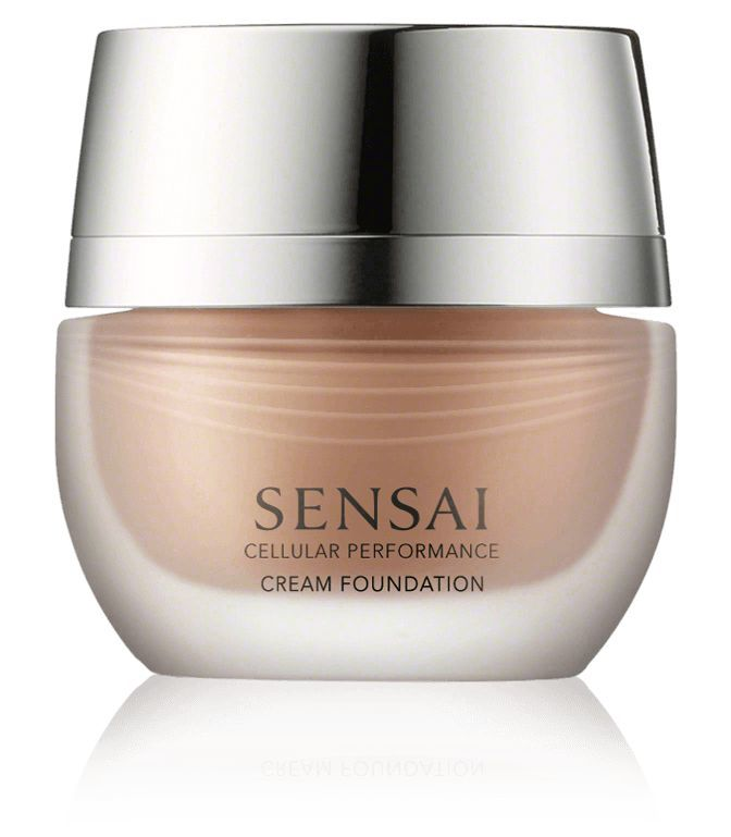 Kanebo Sensai Cellular Performance Cream Foundation CF 24 Amber Beige 30ml 1