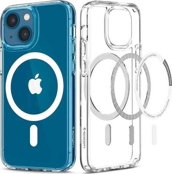 Spigen Etui Spigen Ultra Hybrid Mag MagSafe Apple iPhone 13 White 1