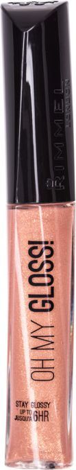 Rimmel  Stay Glossy Oh My Lipgloss 6,5ml 120 Non stop glamour 1