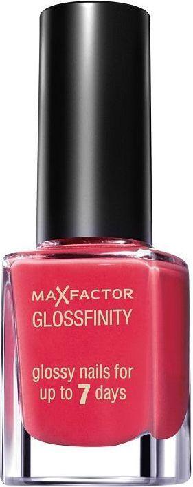 MAX FACTOR Glossfinity Nail Polish 11ml 75 Flushed Rose 1