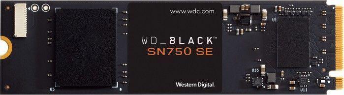 Dysk SSD WD Black SN750 SE 250 GB M.2 2280 PCI-E x4 Gen4 NVMe (WDS250G1B0E) 1