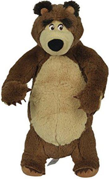 Simba Masza i Niedźwiedź Pluszowy niedźwiedź 25 cm siedzący - 109301942 1
