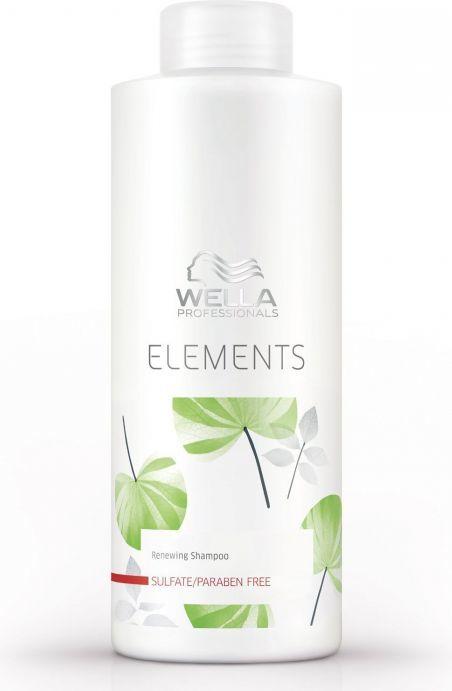 Wella Elements Nawilżający szampon przeznaczony do regeneracji wszystkich rodzajów włosów 1000 ml 1