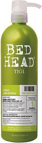 Tigi Bed Head Re-Energize Shampoo Szampon do włosów 750ml 1