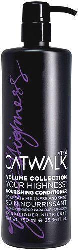 Tigi Catwalk Your Highness Elevating Conditioner Odżywka do włosów 750ml 1