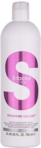 Tigi S Factor Stunning Volume Conditioner Odżywka do włosów 750ml 1