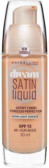 Maybelline  Dream Satin Liquid Foundation SPF13 Podkład 48 Sun Beige 30ml 1