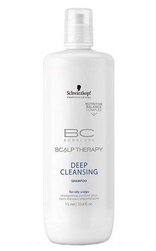 Schwarzkopf BC Bonacure Scalp Therapy Deep Cleansing Shampoo Szampon do włosów 1000ml 1