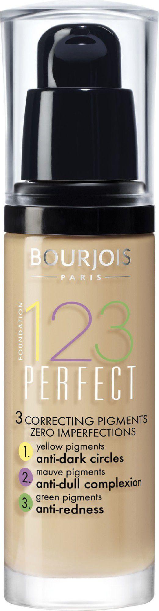 BOURJOIS Paris 123 Perfect Foundation 16 Hour 54 Beige 30ml 1