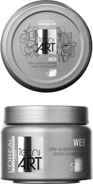 L'Oreal Paris Tecni Art Web Paste Pasta do włosów 150ml 1