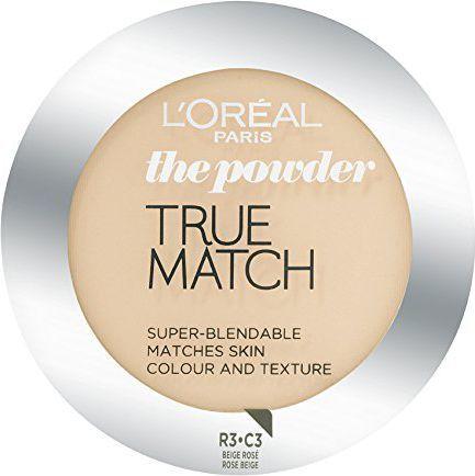 L'Oreal Paris True Match Powder Puder w kamieniu C3 Rose Beige 9g 1