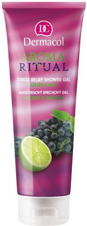 Dermacol Aroma Ritual Shower Gel Grape&Lime Żel pod prysznic 250ml 1