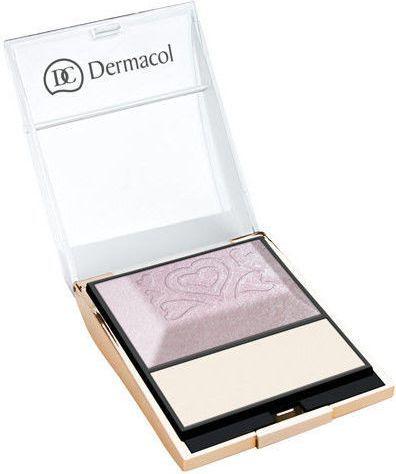 Dermacol Illuminating Palette - rozświetlacz do twarzy 9g 1