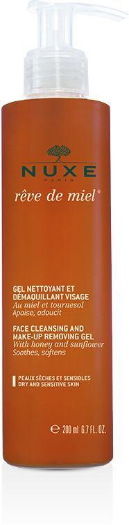 Nuxe Reve de Miel Face Cleansing Gel - żel do mycia i demakijażu twarzy 200ml 1